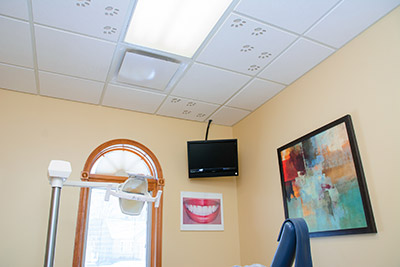 Endwell patient room