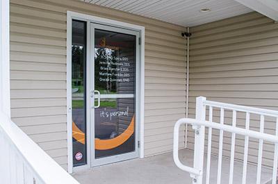 Progressive Dental office door