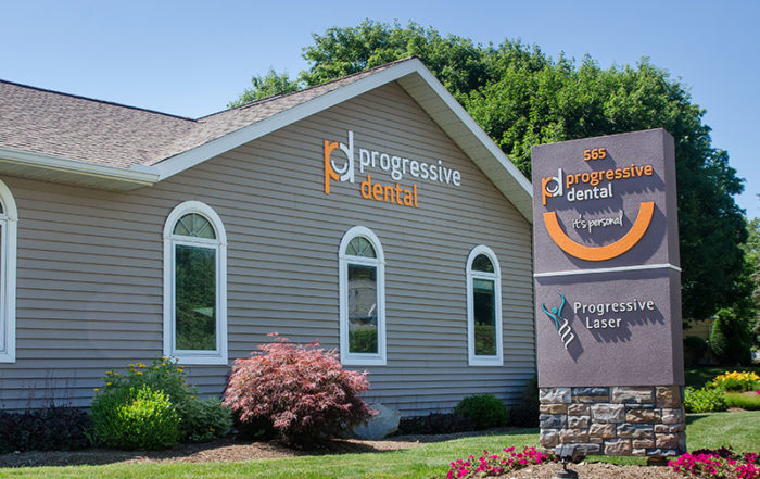 Progressive Dental Endwell office on a sunny day