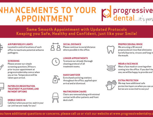 Enhancements to your appointment