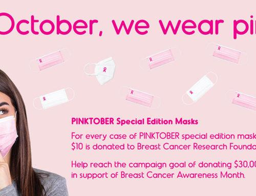 PINKTOBER Special Edition Masks